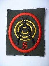 IRISH DEFENCE FORCE ADVANCED SNIPER CLOTH PATCH.