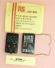 PCB Relay Socket for 2 & 4 Pole C/O and Heavy Duty