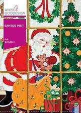 Santa's Visit Anita Goodesign Embroidery Machine Design Cd New 124Aghd