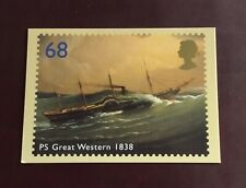 Ocean Liners - 2004 - PS Great Western 1838 - PHQ Card
