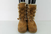 UGG Australia Brown Suede Lined Boots size Uk 6.5