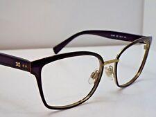 8e324c02365 Authentic DOLCE   GABBANA DG1282 1287 Black Gold Eyeglasses Frame  195