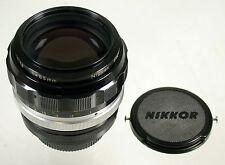 NIKON 1,8/85 85 85mm F1,8 1,8 Non-Ai Nippon Kogaku NKK Nikkor vintage original