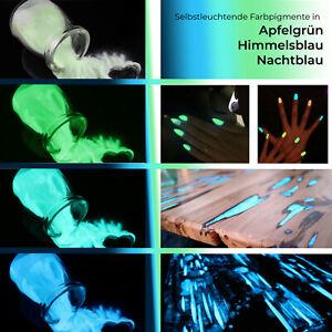 Fluoreszierende Farbe Pulver Selbstleuchtend Nachtleuchtfarbe Pigmente UV Neon