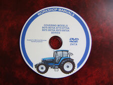 NEW HOLLAND 70 Series 8670, 8770, 8870, 8970  WORKSHOP SERVICE REPAIR MANUAL