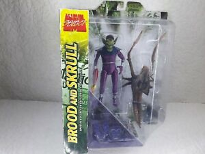 Marvel Diamond Select Brood and Skrull Special Collector Edition Action Figures