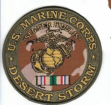 Marine Corps Division Desert Storm Patch