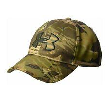 Under Armour Men's Big Flag Camo Cap Hat Lid Snapback Forest Camo, One Size, 011