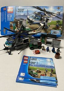 LEGO City Helicopter Surveillance (60046) 100% Complete Retired Instructions