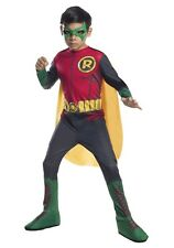 Kids Robin Costume Batman DC Comics Halloween Child Size Large 12-14