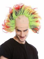 Wig Bald Head Tall Toupierte Hair Red Green Black Yellow Iro Sun Demon