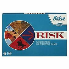 Parker Brothers Risk Cardboard Board & Traditional Games