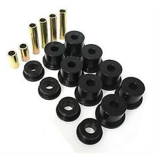 Energy Susp Ford F-250 & F-350 Front Leaf Spring Bushing Set (Black) 4.2121G