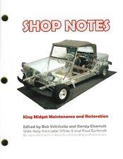 King Midget Repair Book- NEW!