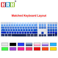 US Silicone Cover Skin For iMac G6 Wired With Numeric Keyboard A1243 MB110LL/B