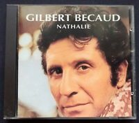 GILBERT BECAUD nathalie FRENCH CD EMI 1993