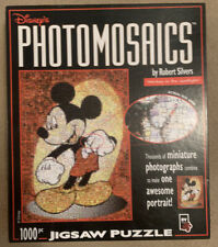 Disney's Photomosaic 'Mickey In The Spotlight' Jigsaw Puzzle, 1000 Piece - Rare