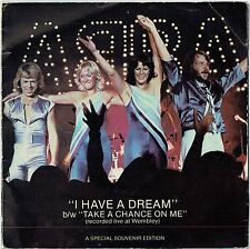 "ABBA - 7"" - I Have A Dream Gatefold Special Souvenir Edition.  Epic"