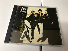 XTC White Music CD Andy Partridge Colin Moulding Signed