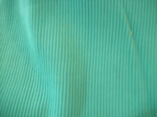 "Green tube rib knit fabric  approx 13"" wide by 9"" long"