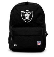 NEW ERA NFL STADIUM BACKPACK. OAKLAND RAIDERS. BLACK OFFICIAL TEAM COLOURS