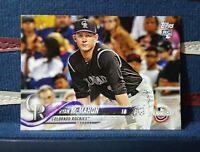2018 Topps Opening Day #115 Ryan McMahon RC Rookie - Rockies