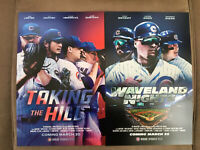 Chicago Cubs Poster Waveland Nights & Taking The Hill 2020 Cubs Convention 11x17