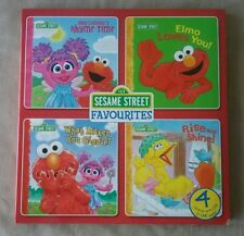 Sesame Street Favourites 4 stories with CD's read along audio