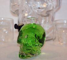 Totenkopfflasche, Piratenflasche, Schädel, Motivflasche