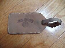 Vintage 1970's JACK DANIELS leather luggage tag