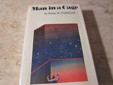 Man in a Cage by Brian M. Stableford Signed