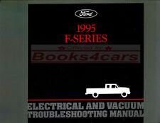 SHOP MANUAL ELECTRICAL 1995 TRUCK FORD PICKUP SERVICE REPAIR BOOK F150 F250 F350