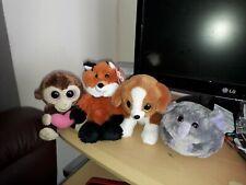 Ty Beanie Boos X 3 Plus Attic Treasures Fox