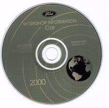 FORD - 2000 Car Service Information CD - Mustang - Focus - Taurus - Sable   12.0