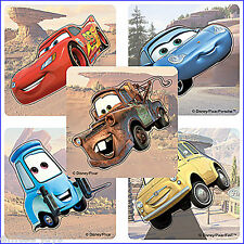 Cars Stickers x 5 - Disney - Shaped - Birthday Party Favours - Lightning McQueen