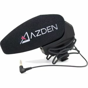 Azden SMX-30 Stereo / Mono Switchable Video Microphone for Canon DSLR Cameras