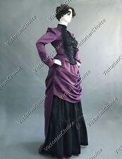 Victorian Edwardian Vintage French Bustle Gown Steampunk Riding Habit 139 Xxxl