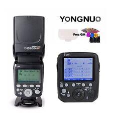 YONGNUO YN686EX-RT 2.4G TTL Flash Speedlite+YN-E3-RT For Canon 5D 6D 80D 70D M6