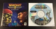 WarCraft II 2 Battle.net Edition PC CD-ROM Game + Game Key