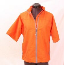 Sunice X20ct Full-Zip Orange Short Sleeve Sport Wind Golf Jacket Wms Small $120