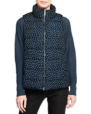 Tommy Hilfiger Womens Jacket Puffer Vest Midnight Polka...