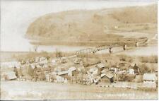 Bird's Eye View N. Mehoopany Wyoming County Pa Rppc Real Photo Postcard 1909