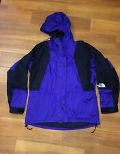 VTG THE NORTH FACE Jacket Size XL Mens Mountain Guide PURPLE Gortex Hooded EUC