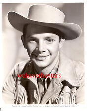 Vintage Bill George AKA Jay Kirby HANDSOME '42 HOPALONG STAR Publicity Portrait