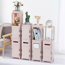 Bathroom Toilet Cabinet Storage Organizer Standing Rack Cupboard Holder Shelf