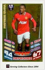 2012-13 Match Attax Legend Foil Card #477 Patrice Evra (Man Utd)
