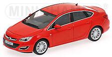 Opel Astra J Stufenheck 2012 - 2012-15 Power rot red 1:43 Minichamps