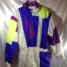 WHITE STAG ONE PIECE SKI SNOWBOARD SNOWMOBILE SUIT, SEE MEASUREMENTS 80's Retro