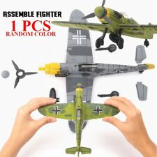 Fighter Model Toys Building Sets Flanker Combat Aircraft Diecast War-II BF-109