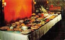 Bellville Ohio San Dar Dining Room Buffet Table Vintage Postcard K93648